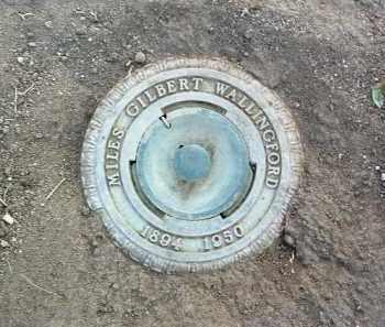 WALLINGFORD, MILES G. - Yavapai County, Arizona   MILES G. WALLINGFORD - Arizona Gravestone Photos