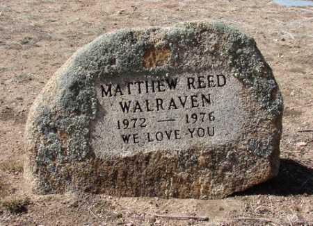 WALRAVEN, MATTHEW REED - Yavapai County, Arizona   MATTHEW REED WALRAVEN - Arizona Gravestone Photos
