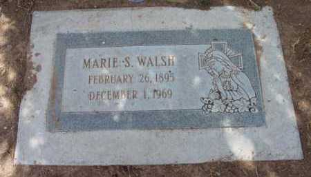 WALSH, MARIE S. - Yavapai County, Arizona | MARIE S. WALSH - Arizona Gravestone Photos