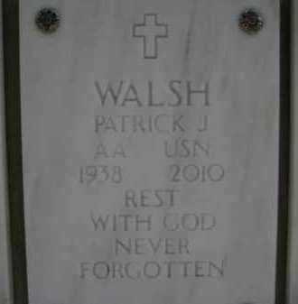 WALSH, PATRICK JAMES - Yavapai County, Arizona   PATRICK JAMES WALSH - Arizona Gravestone Photos