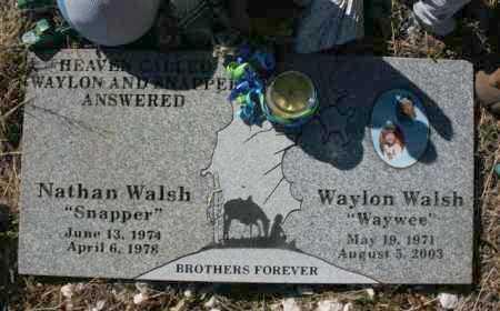 WALSH, NATHAN RODERICK - Yavapai County, Arizona | NATHAN RODERICK WALSH - Arizona Gravestone Photos