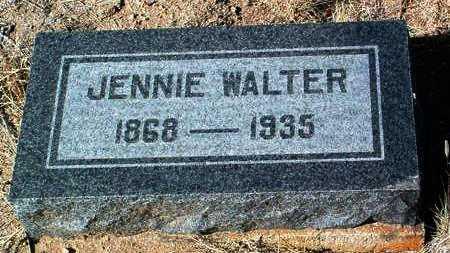 WARNOCK WALTER, JENNIE - Yavapai County, Arizona | JENNIE WARNOCK WALTER - Arizona Gravestone Photos