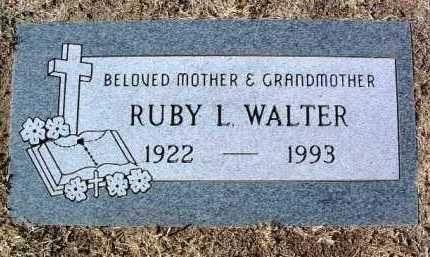 WALTER, RUBY LEE - Yavapai County, Arizona | RUBY LEE WALTER - Arizona Gravestone Photos