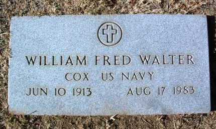 WALTER, WILLIAM FRED - Yavapai County, Arizona | WILLIAM FRED WALTER - Arizona Gravestone Photos
