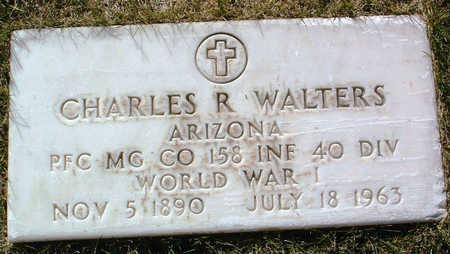 WALTERS, CHARLES R. - Yavapai County, Arizona | CHARLES R. WALTERS - Arizona Gravestone Photos