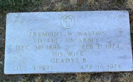 WALTON, FREMONT W. - Yavapai County, Arizona | FREMONT W. WALTON - Arizona Gravestone Photos