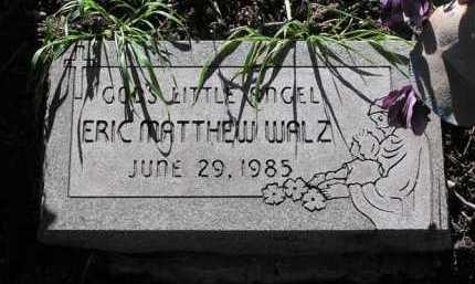 WALZ, ERIC MATTHEW - Yavapai County, Arizona | ERIC MATTHEW WALZ - Arizona Gravestone Photos
