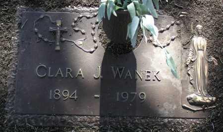 GERTZ WANKE, CLARA J. - Yavapai County, Arizona | CLARA J. GERTZ WANKE - Arizona Gravestone Photos