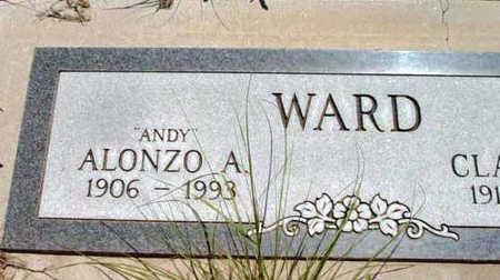 WARD, ALONZO ANDERSON - Yavapai County, Arizona | ALONZO ANDERSON WARD - Arizona Gravestone Photos