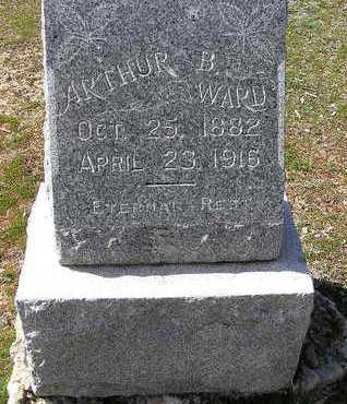 WARD, ARTHUR B. - Yavapai County, Arizona | ARTHUR B. WARD - Arizona Gravestone Photos