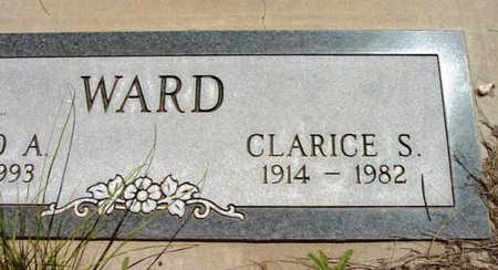WARD, CLARICE S. - Yavapai County, Arizona   CLARICE S. WARD - Arizona Gravestone Photos