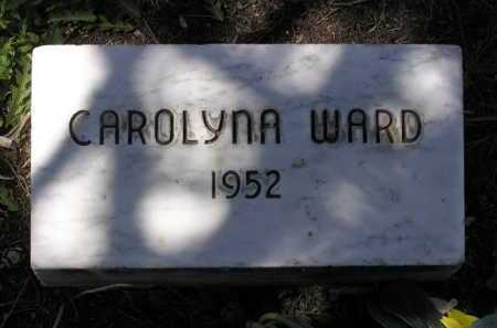 WARD, CAROLYNA - Yavapai County, Arizona | CAROLYNA WARD - Arizona Gravestone Photos