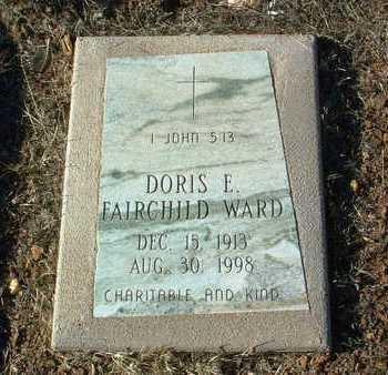 WARD, DORIS E. - Yavapai County, Arizona | DORIS E. WARD - Arizona Gravestone Photos