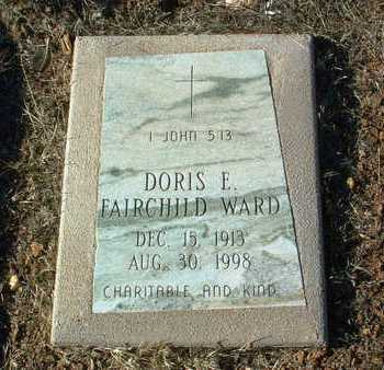WARD, DORIS E. - Yavapai County, Arizona | DORIS E. WARD - Arizona Gravestone Photos