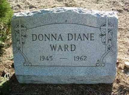 WARD, DONNA DIANE - Yavapai County, Arizona | DONNA DIANE WARD - Arizona Gravestone Photos