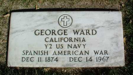 WARD, GEORGE - Yavapai County, Arizona | GEORGE WARD - Arizona Gravestone Photos