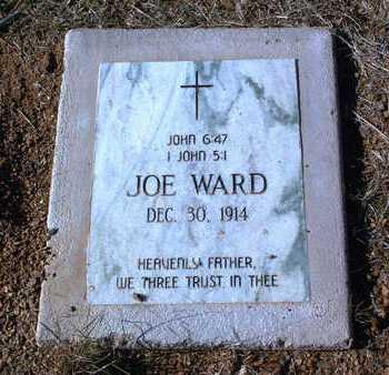 WARD, JOE - Yavapai County, Arizona | JOE WARD - Arizona Gravestone Photos