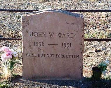 WARD, JOHN W. - Yavapai County, Arizona | JOHN W. WARD - Arizona Gravestone Photos