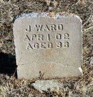 WARD, J. R. - Yavapai County, Arizona   J. R. WARD - Arizona Gravestone Photos