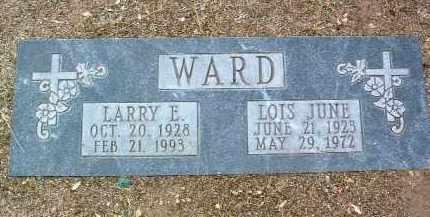 WARD, LOIS JUNE - Yavapai County, Arizona | LOIS JUNE WARD - Arizona Gravestone Photos