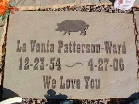 WARD, LAVANIA - Yavapai County, Arizona | LAVANIA WARD - Arizona Gravestone Photos