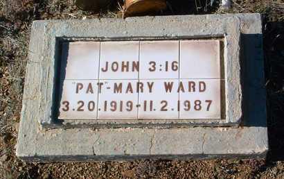 WARD, MARY G. - Yavapai County, Arizona | MARY G. WARD - Arizona Gravestone Photos