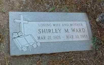WARD, SHIRLEY M. - Yavapai County, Arizona | SHIRLEY M. WARD - Arizona Gravestone Photos