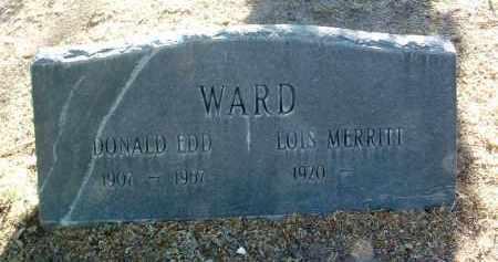 WARD, THELMA LOIS - Yavapai County, Arizona   THELMA LOIS WARD - Arizona Gravestone Photos