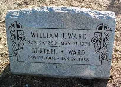 WARD, GURTHEL A. - Yavapai County, Arizona | GURTHEL A. WARD - Arizona Gravestone Photos