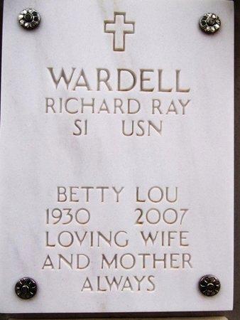 WARDELL, BETTY LOU - Yavapai County, Arizona   BETTY LOU WARDELL - Arizona Gravestone Photos