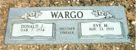 WARGO, DONALD JOSEPH - Yavapai County, Arizona | DONALD JOSEPH WARGO - Arizona Gravestone Photos