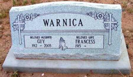 WARNICA, GUY C. - Yavapai County, Arizona | GUY C. WARNICA - Arizona Gravestone Photos