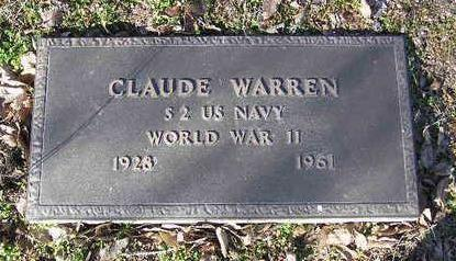 WARREN, CLAUDE B. - Yavapai County, Arizona | CLAUDE B. WARREN - Arizona Gravestone Photos