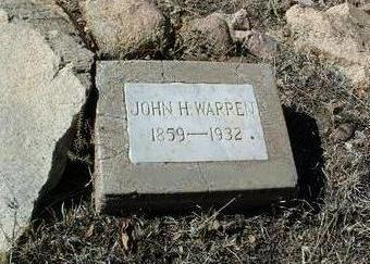 WARREN, JOHN HENRY - Yavapai County, Arizona | JOHN HENRY WARREN - Arizona Gravestone Photos
