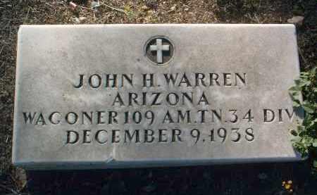 WARREN, JOHN H. - Yavapai County, Arizona | JOHN H. WARREN - Arizona Gravestone Photos