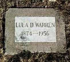 HARRIS WARREN, LULA D. - Yavapai County, Arizona | LULA D. HARRIS WARREN - Arizona Gravestone Photos