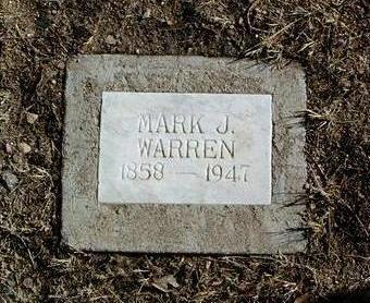WARREN, MARK JAMES - Yavapai County, Arizona | MARK JAMES WARREN - Arizona Gravestone Photos