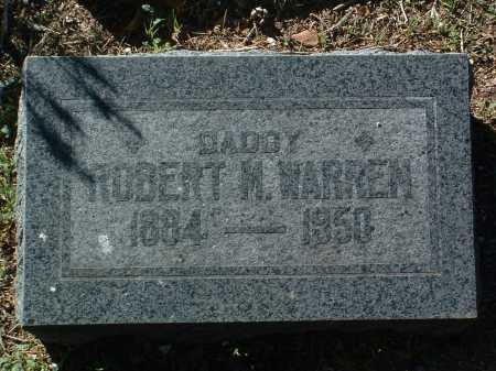 WARREN, ROBERT MCDANIEL - Yavapai County, Arizona | ROBERT MCDANIEL WARREN - Arizona Gravestone Photos