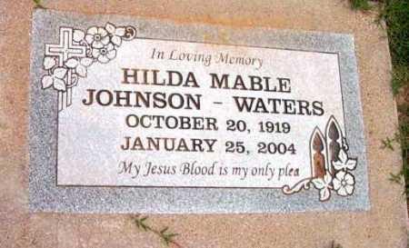 JOHNSON, HILDA MABEL - Yavapai County, Arizona | HILDA MABEL JOHNSON - Arizona Gravestone Photos