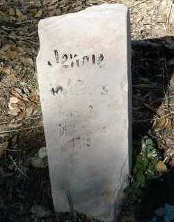 WATERS, MARY JANE - Yavapai County, Arizona   MARY JANE WATERS - Arizona Gravestone Photos