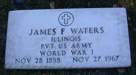 WATERS, JAMES FRANCIS - Yavapai County, Arizona | JAMES FRANCIS WATERS - Arizona Gravestone Photos