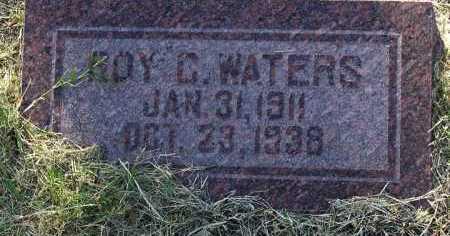 WATERS, ROY C. - Yavapai County, Arizona | ROY C. WATERS - Arizona Gravestone Photos