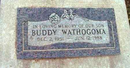 WATHOGOMA, BUDDY LYNN - Yavapai County, Arizona | BUDDY LYNN WATHOGOMA - Arizona Gravestone Photos