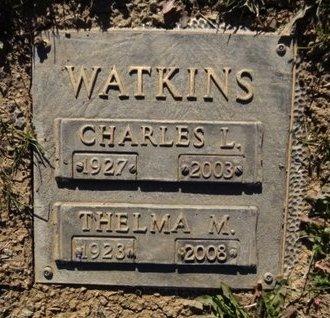 WATKINS, CHARLES LEWIS - Yavapai County, Arizona | CHARLES LEWIS WATKINS - Arizona Gravestone Photos