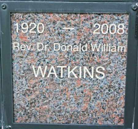 WATKINS, DONALD WILLIAM - Yavapai County, Arizona | DONALD WILLIAM WATKINS - Arizona Gravestone Photos