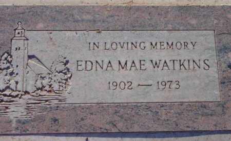 WATKINS, EDNA MAE - Yavapai County, Arizona | EDNA MAE WATKINS - Arizona Gravestone Photos
