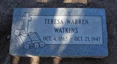 WARREN WATKINS, TERESA F. - Yavapai County, Arizona   TERESA F. WARREN WATKINS - Arizona Gravestone Photos