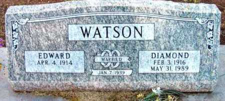 WATSON, DIAMOND - Yavapai County, Arizona | DIAMOND WATSON - Arizona Gravestone Photos