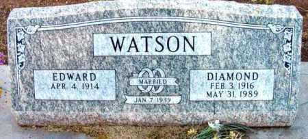 WATSON, EDWARD - Yavapai County, Arizona   EDWARD WATSON - Arizona Gravestone Photos