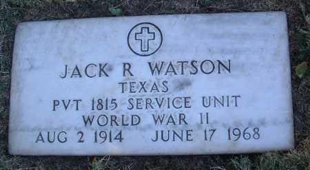 WATSON, JACK R. - Yavapai County, Arizona   JACK R. WATSON - Arizona Gravestone Photos